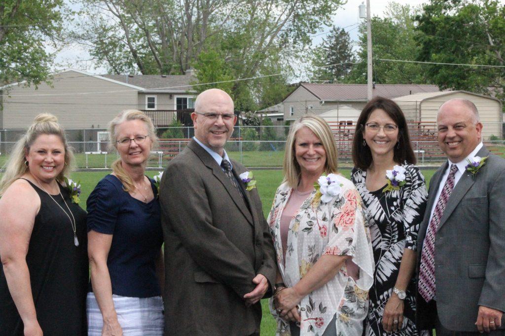 School Board at 2021 Graduation